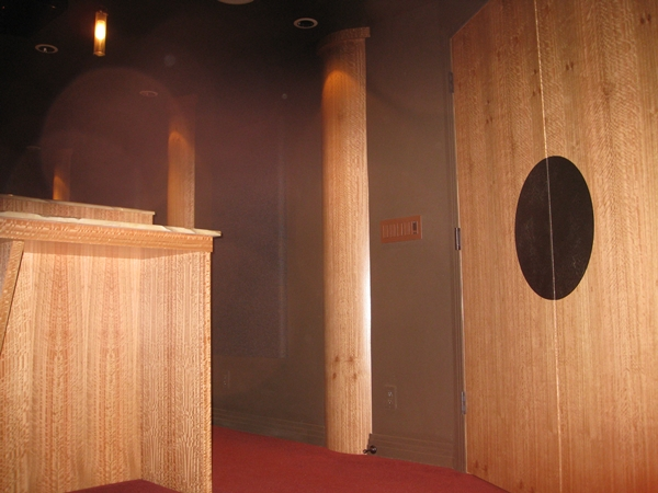 detail door and column