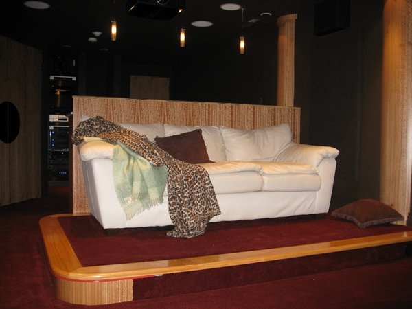 riser seating area