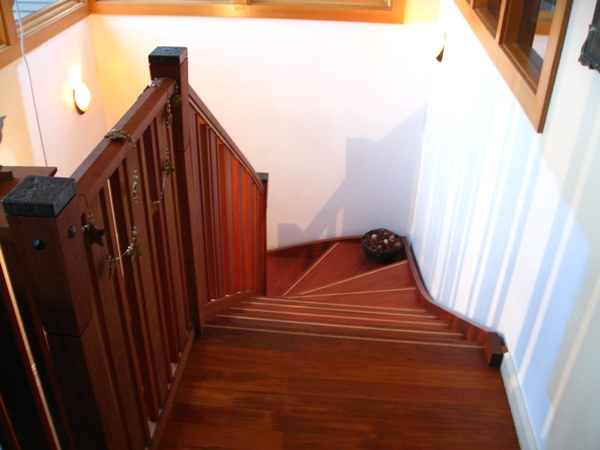 top of stair detail